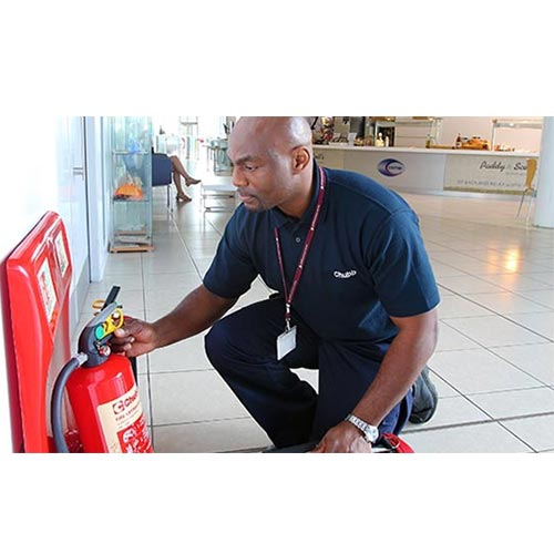 بازرسی کپسول آتش نشانی